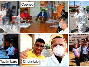 Ante la pandemia por el COVID-19, las y los Presidentes Municipales del PRD toman acciones