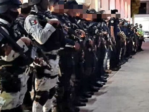 Se despliega operativo interinstitucional en Apatzingán