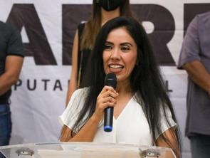 Fanny Arreola Pichardo será una aliada del Distrito de Apatzingán, agradece respaldo