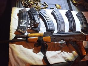 En Lázaro Cárdenas, detiene SSP a uno en posesión de 2 armas y 147 cartuchos