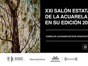 Última semana para participar en el Salón Estatal de la Acuarela Edición 2020