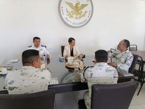 Afina Gobierno de Morelia y Guardia Nacional estrategia de seguridad