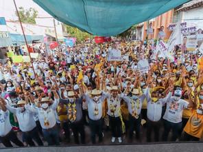 El corazón de Tierra Caliente está con el Equipo por Michoacán: Carlos Herrera
