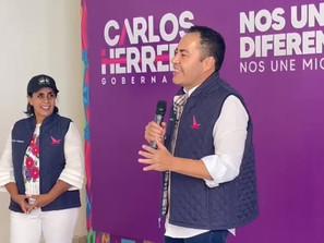 Cocoa Calderón y México Libre con el Equipo por Michoacán.