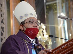 Busca a Dios, Regresa a Dios.Inicio de la Cuaresma: Juan Espinoza Jiménez Obispo auxiliar de Morelia