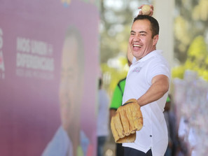 El deporte es la medicina contra la inseguridad: Carlos Herrera