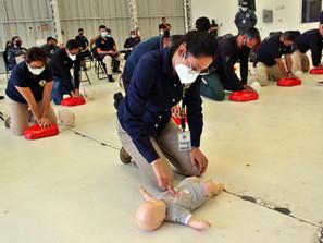 Se capacita FGE en Primer Respondiente en Primeros Auxilios