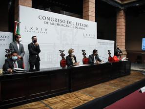 Notifican Ayuntamientos a Congreso local, licencias para presidentes municipales de 13 ayuntamientos