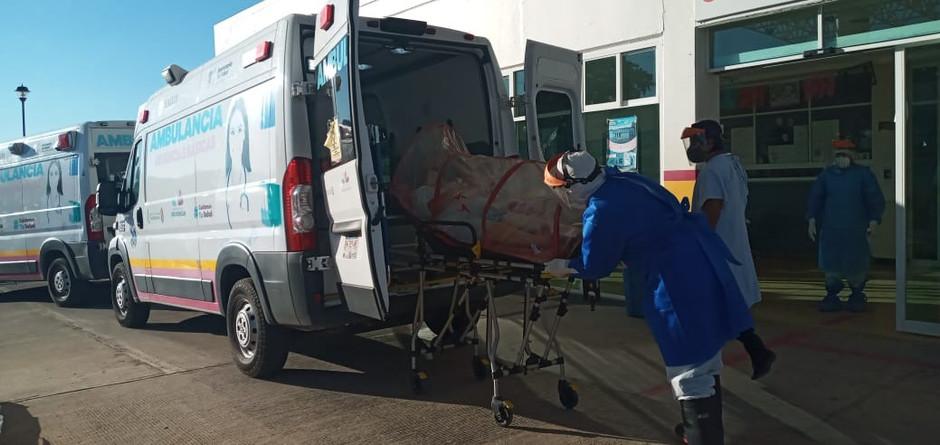 Al 56.55% ocupación hospitalaria de áreas COVID-19 en LC
