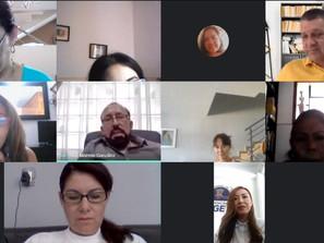 Participa FGE en jornada virtual de conferencias sobre prevención de la violencia escolar
