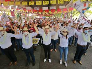 Ante miles de ciudadanos, Carlos Herrera exhibe a gobernantes borregos y agachones de Morena