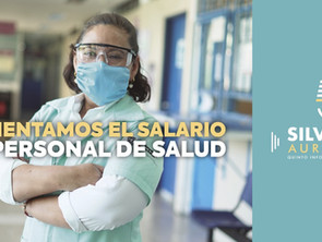Se concretó este año histórico aumento de 60% al personal de salud en Michoacán