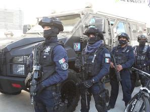 Operación Conjunta Michoacán, asegura a 5 personas con 70 dosis de metanfetamina y 5 vehículos