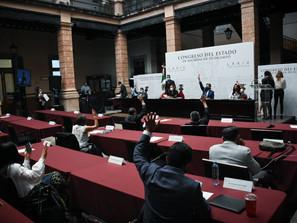 Rinden protesta alcaldes provisionales y un sustituto ante el Congreso del Estado