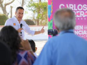 Percibe Carlos Herrera incremento de  inseguridad en Michoacán.