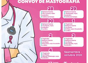 Aumenta detección oportuna de cáncer de mama en Michoacán