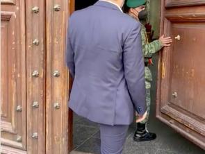 Bedolla pondría fin a disputa con gobierno de AMLO. Inicia gestiones en Palacio Federal