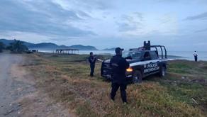 """SSP monitorea la Costa Michoacana ante la llegada del huracán """"Rick"""""""
