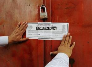 Suspende SSM 12 establecimientos en Pátzcuaro por no acatar las medidas sanitarias contra el COVID-1