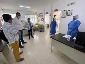 Centros de Salud de la SSM también hacen frente al COVID-19