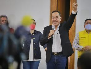 Carlos Herrera virtual Ganador de La Elección para gobernador de Michoacán.