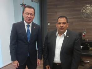 Reunión con Osorio Chong cristaliza proyecto de unidad: Bladimir González