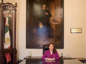 Cristina Portillo se separa del cargo de coordinadora de la fracción y de presidenta de la JUCOPO.