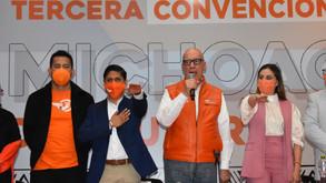 Movimiento Ciudadano Michoacán designa a  Giovani Marcelino Presidente del Consejo