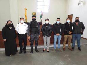 Brinda Gobierno de Morelia asesoría a Peribán sobre su sistema de Justicia Cívica