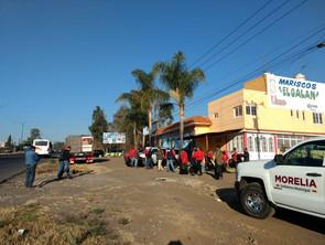 Gobierno de Morelia y empresas participan en jornada de limpieza