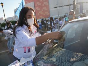Con propuestas ciudadanas y de valor para la sociedad, Andrea Villanueva inicia campaña Distrito XI