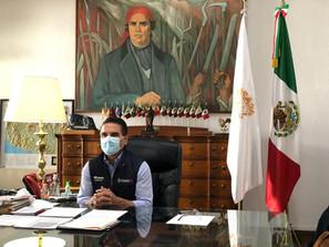 Desde aislamiento, pide Silvano Aureoles a michoacanos defender la vida y evitar contagios por COVID
