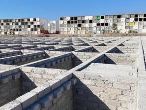 Avanza Gobierno de Morelia en construcción de infraestructura del panteón en Fracc. Vergel