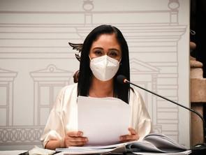 Un alto a la violencia política contra Araceli Saucedo demanda Miriam Tinoco