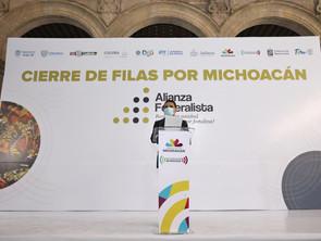 """""""Hay un tufo a lo largo y ancho del país, de centralismo y autoritarismo"""": Gobernador Aureoles"""