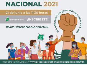 Participará Michoacán en Simulacro Nacional de sismo este 21 de junio