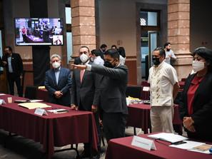 Se incorpora Alfredo Flores a bancada de Morena en Congreso del Estado