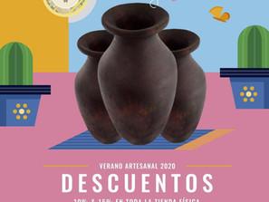 Ofrece Casa de las Artesanías descuentos de verano en todas las piezas