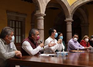 Alcalde de Morelia, Raúl Morón y legisladores de MORENA apoyan 2º Informe de AMLO.