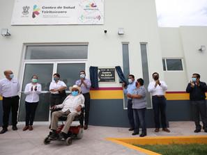 Habitantes de Tziritzícuaro ven sueño hecho realidad con nuevo Centro de Salud