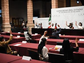 Congreso de Michoacán declara 2021 Año del Bicentenario de la Consumación de la Independencia de Méx