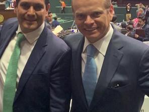 Resalta Ernesto Núñez gestión a tres años de asumir dirigencia del Partido Verde