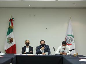 Se reúnen senadores con presidentes municipales de pueblos mágicos del Estado de Hidalgo