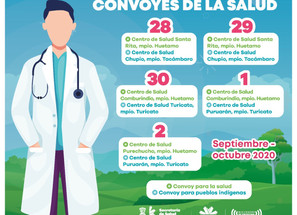 Desplegará SSM Convoyes de la Salud en municipios indígenas