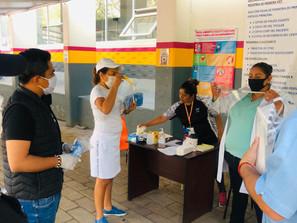 Durante pandemia por COVID-19, entrega PRD Michoacán insumos a ciudadanía
