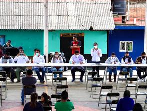ACOMPAÑA IEM ELECCIÓN DEL CONSEJO DE ADMINISTRACIÓN COMUNAL DE SANTA CRUZ TANACO, CHERÁN