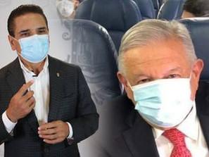 En su visita a Michoacán deberá usar cubrebocas el presidente López Obrador: Silvano