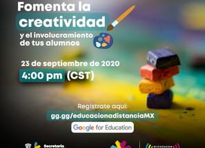 Invita SEE a tutorial para fomentar la creatividad de los estudiantes