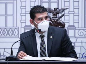 Presenta Octavio Ocampo informe de actividades de su período como presidente del Congreso del Estado