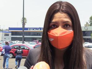Paulina Bedolla y MC interponen denuncia ante Fiscalía por Violencia Política de Género
